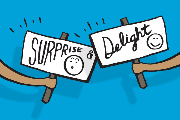 11 ways to surprise and delight parents
